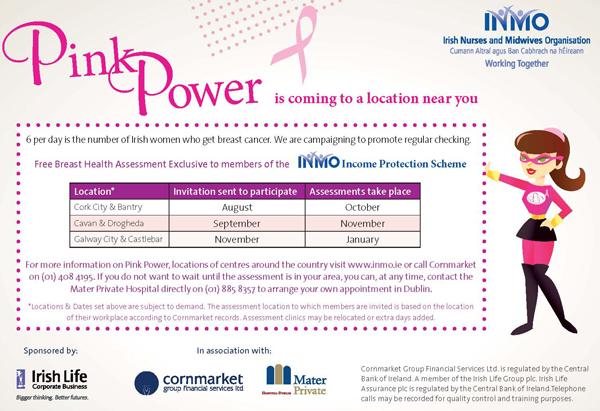 Breast health mater