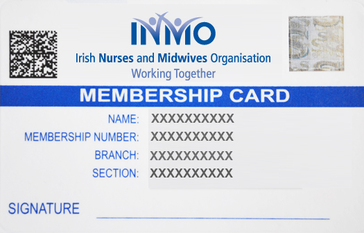 High Quality **Your New Membership Card Is Available From Our Membership Department:  Membership@inmo.ie